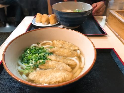 博多ごろうどん だしが美味しい〜 福岡旅行③